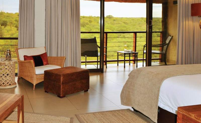 Suite mit herrlicher Veranda mit Blick auf den Nationalpark