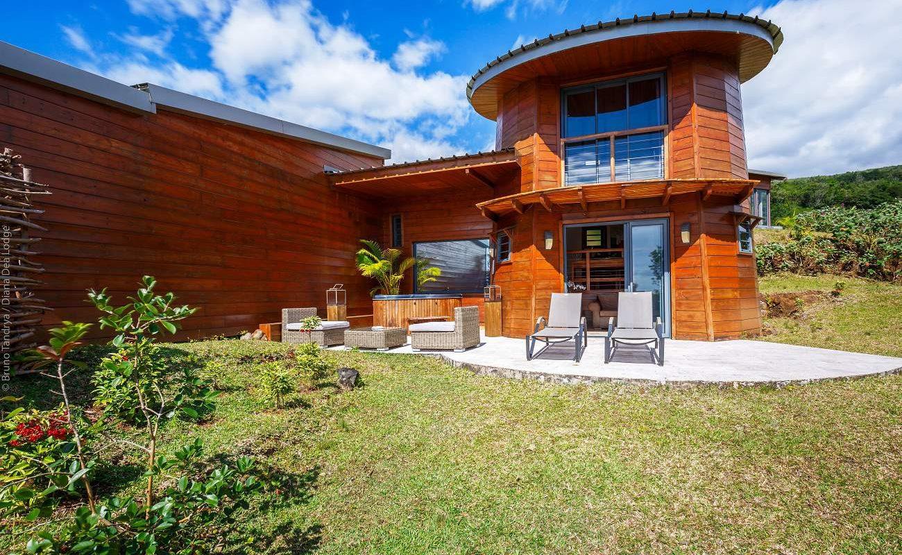 Honeymoon Suite der Diana Dea Lodge