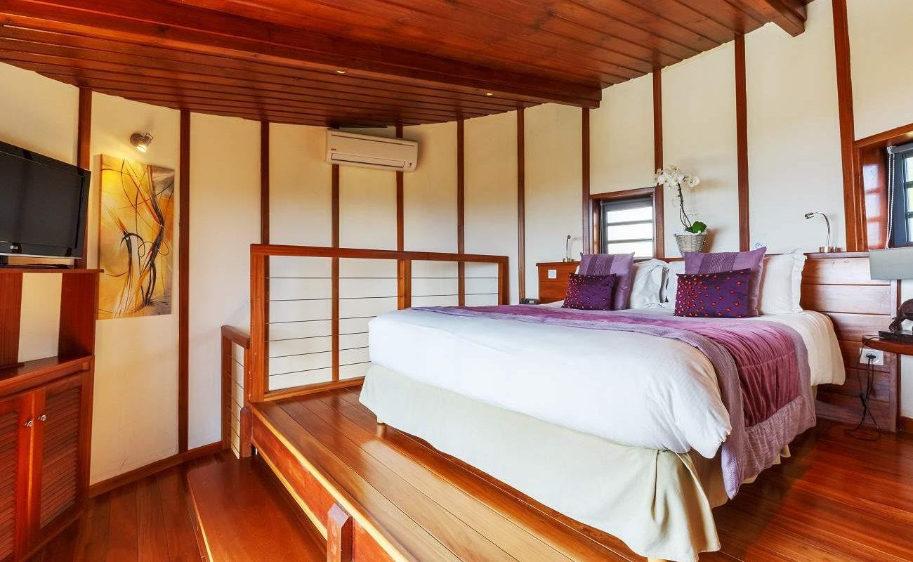 Schlafzimmer der Honeymoon Suite