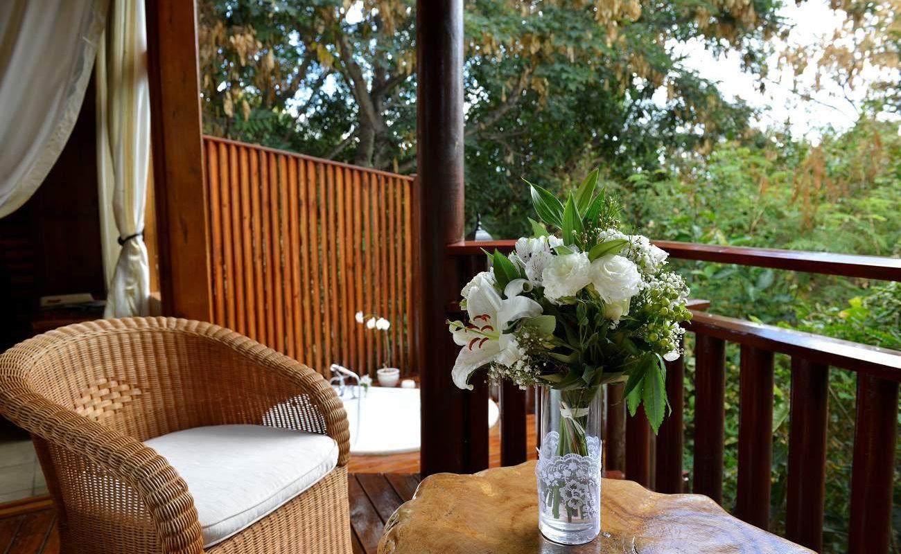 Terrasse einer Romantique Suite