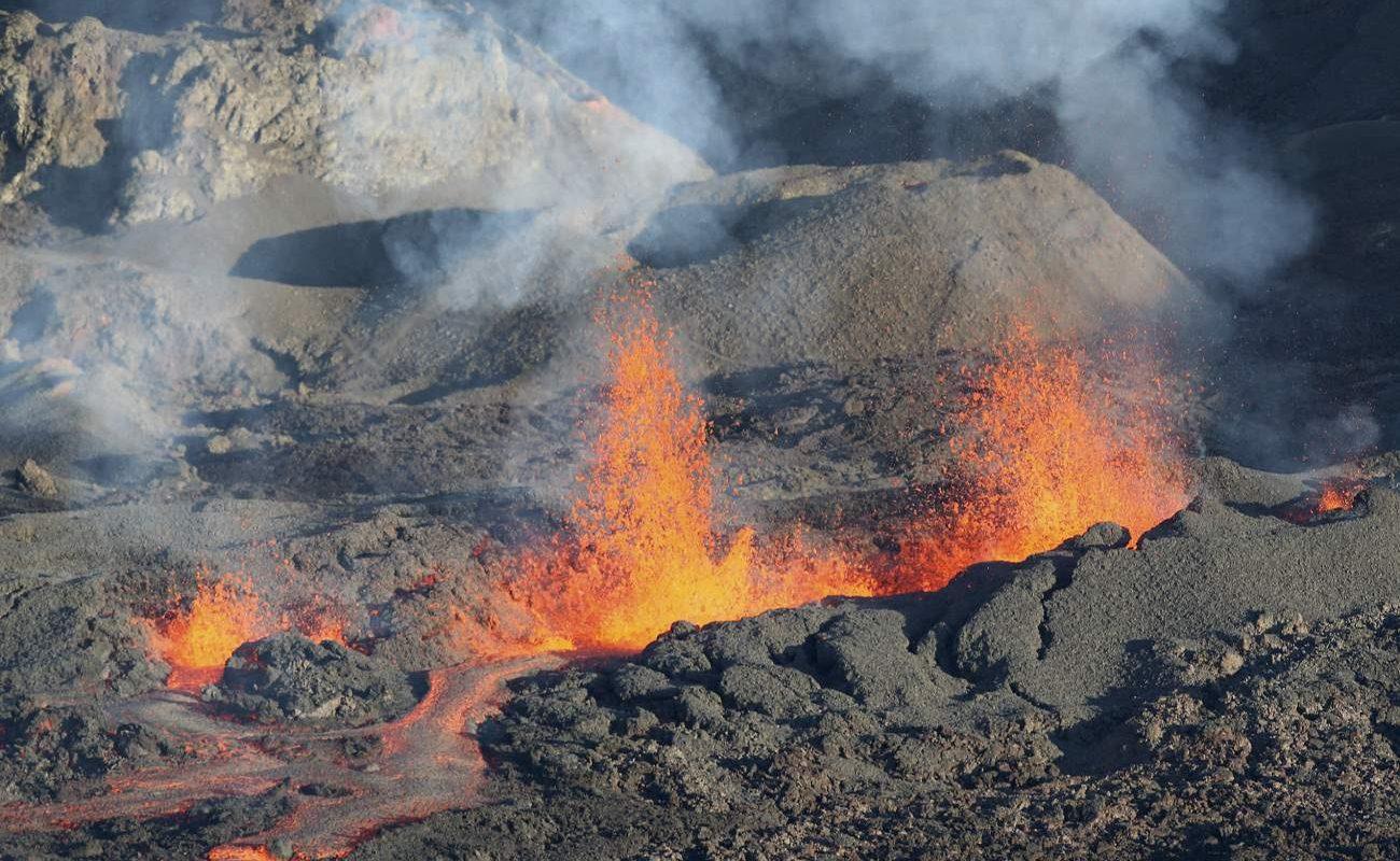 Piton de la Fournaise Vulkanausbruch