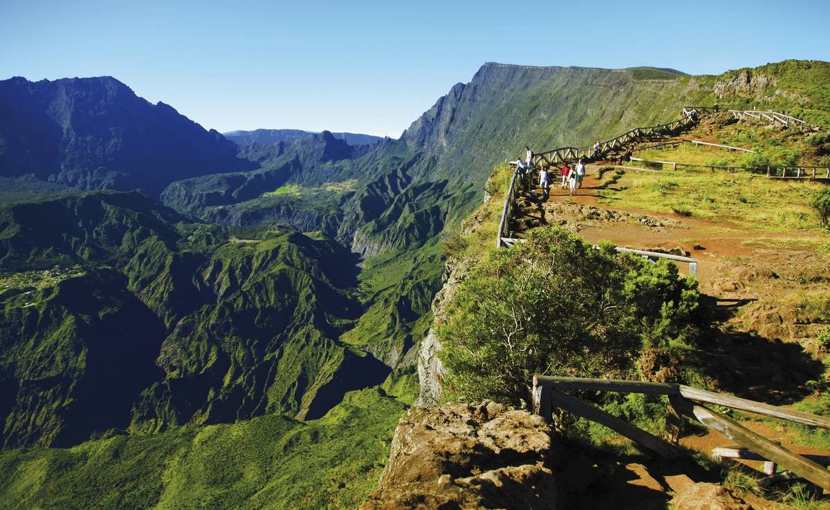 Piton Maido - eines der Highlights der La Réunion Rundreise
