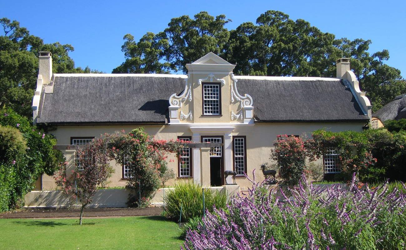 Vergelegen in den Winelands von Südafrika