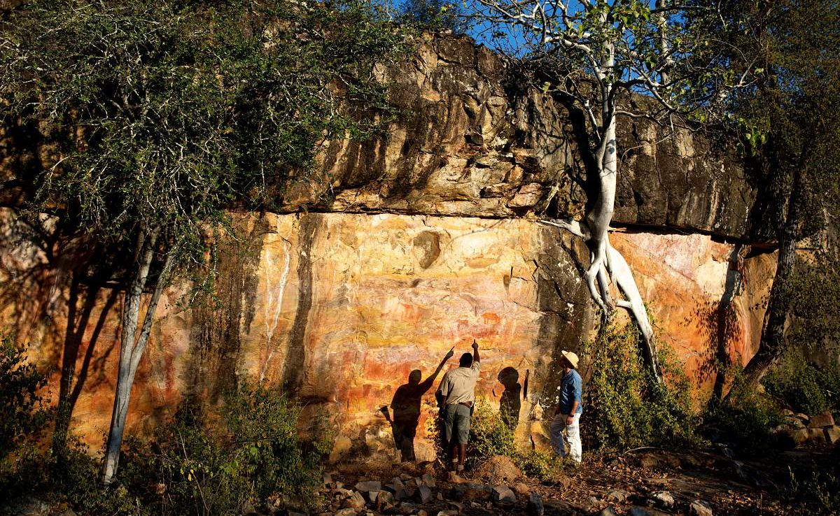 Rock Art in Simbabwe