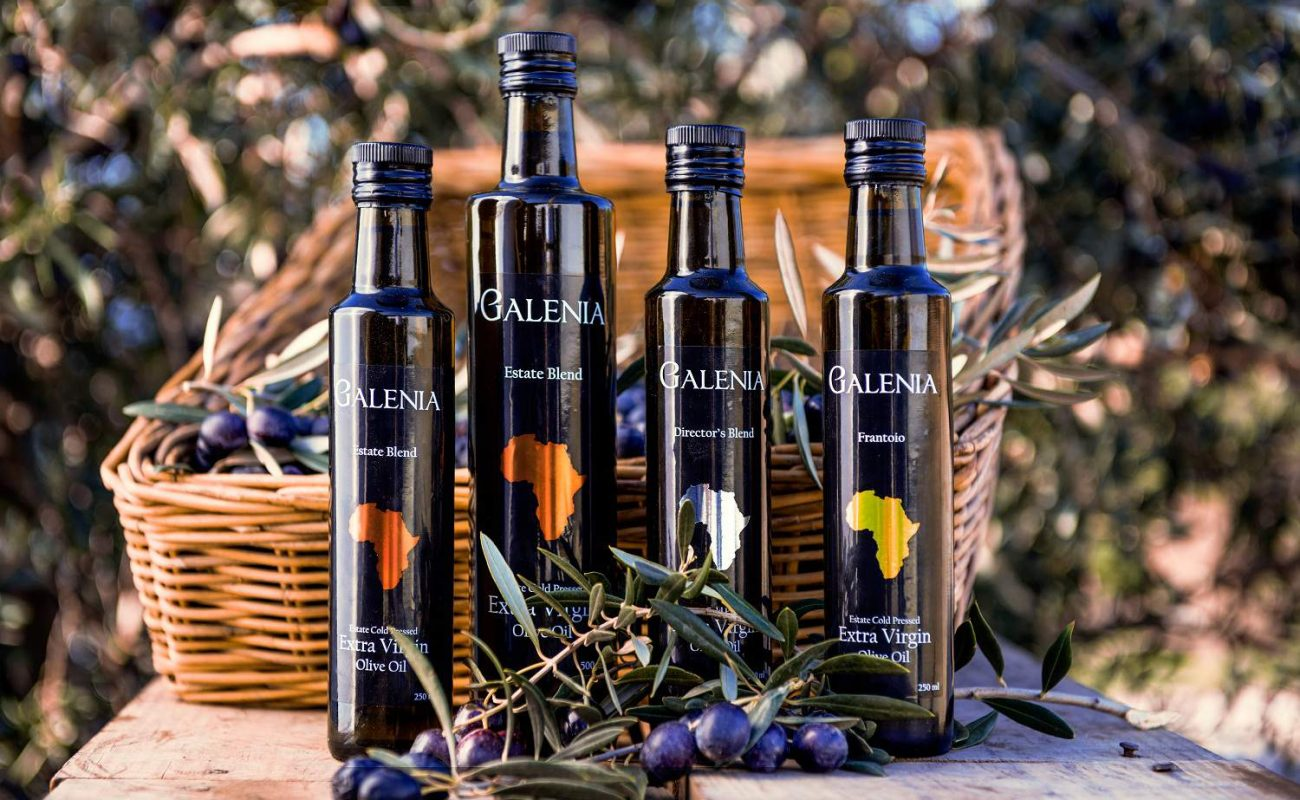 Das vorzügliche Olivenöl von Galenia