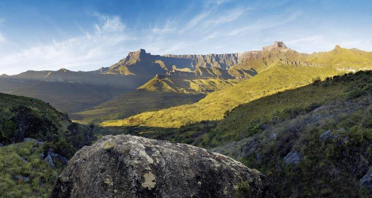 Giant's Castle in den Drakensbergen von Südafrika
