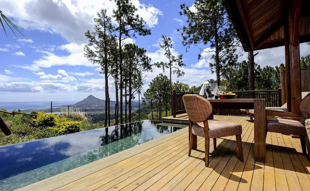 Herrlicher Ausblick - Lakaz Chamarel Seaview Pool Suite