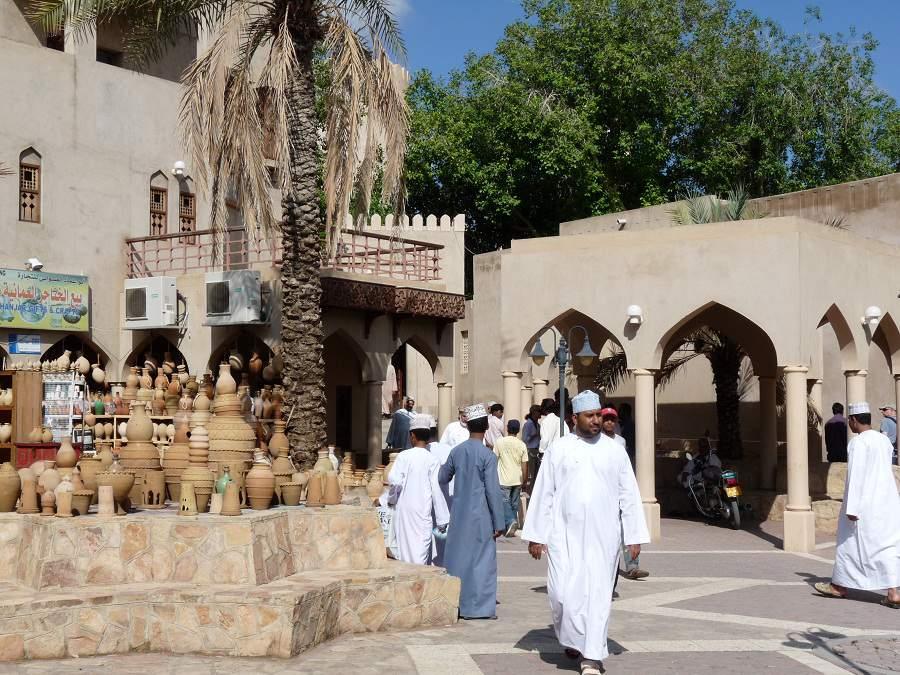Eingang zum Souq in Nizwa