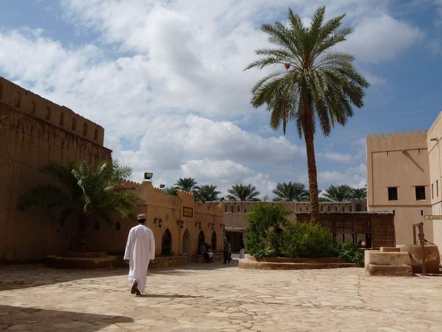 Innenhof des Forts von Nizwa