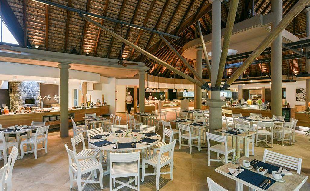 Im Restaurant Frangipanier