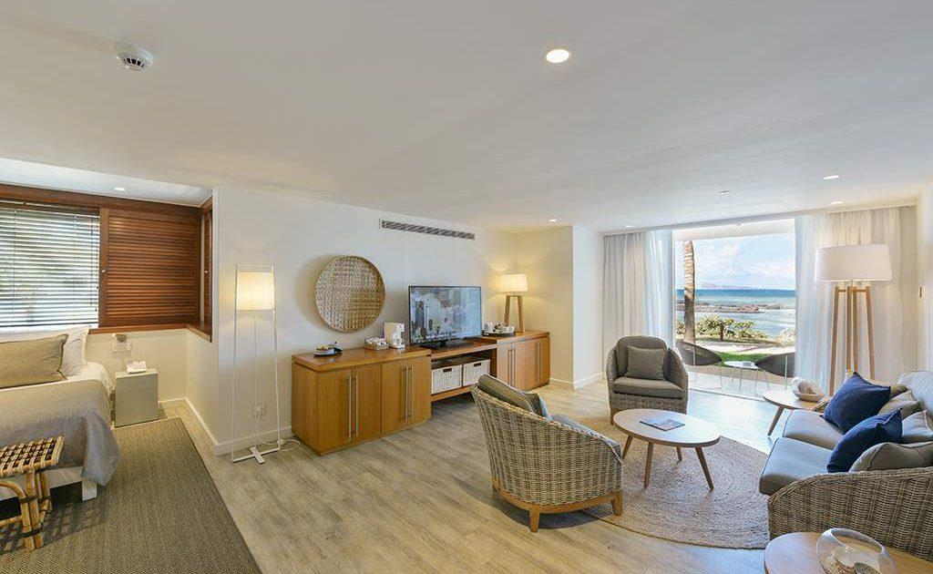 Suite im Canonnier Hotel auf Mauritius