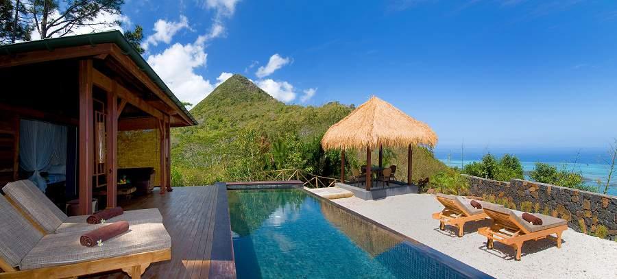 Flitterwochen im Hotel Lakaz Chamarel auf Mauritius