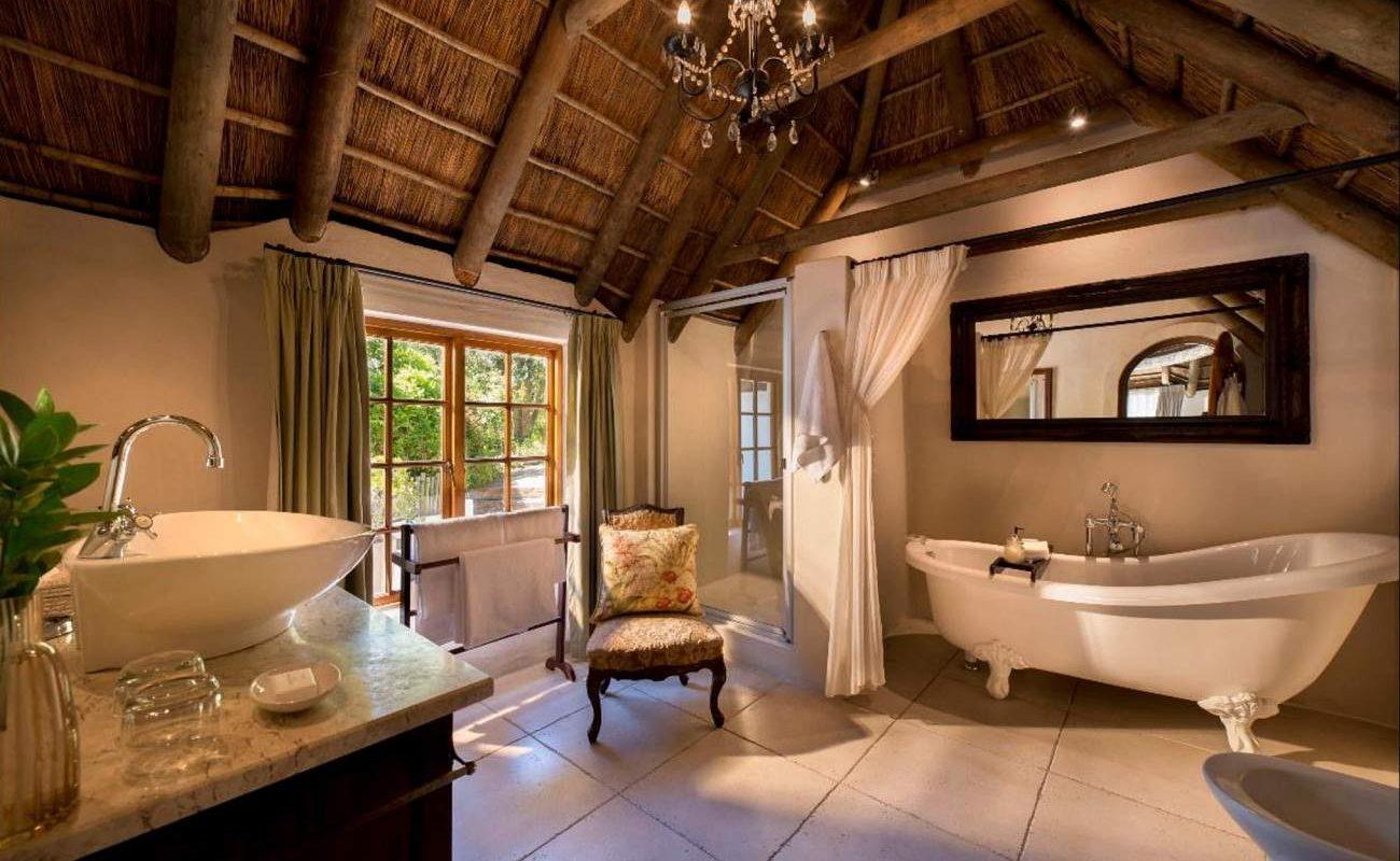 Badezimmer einer Garden Suite
