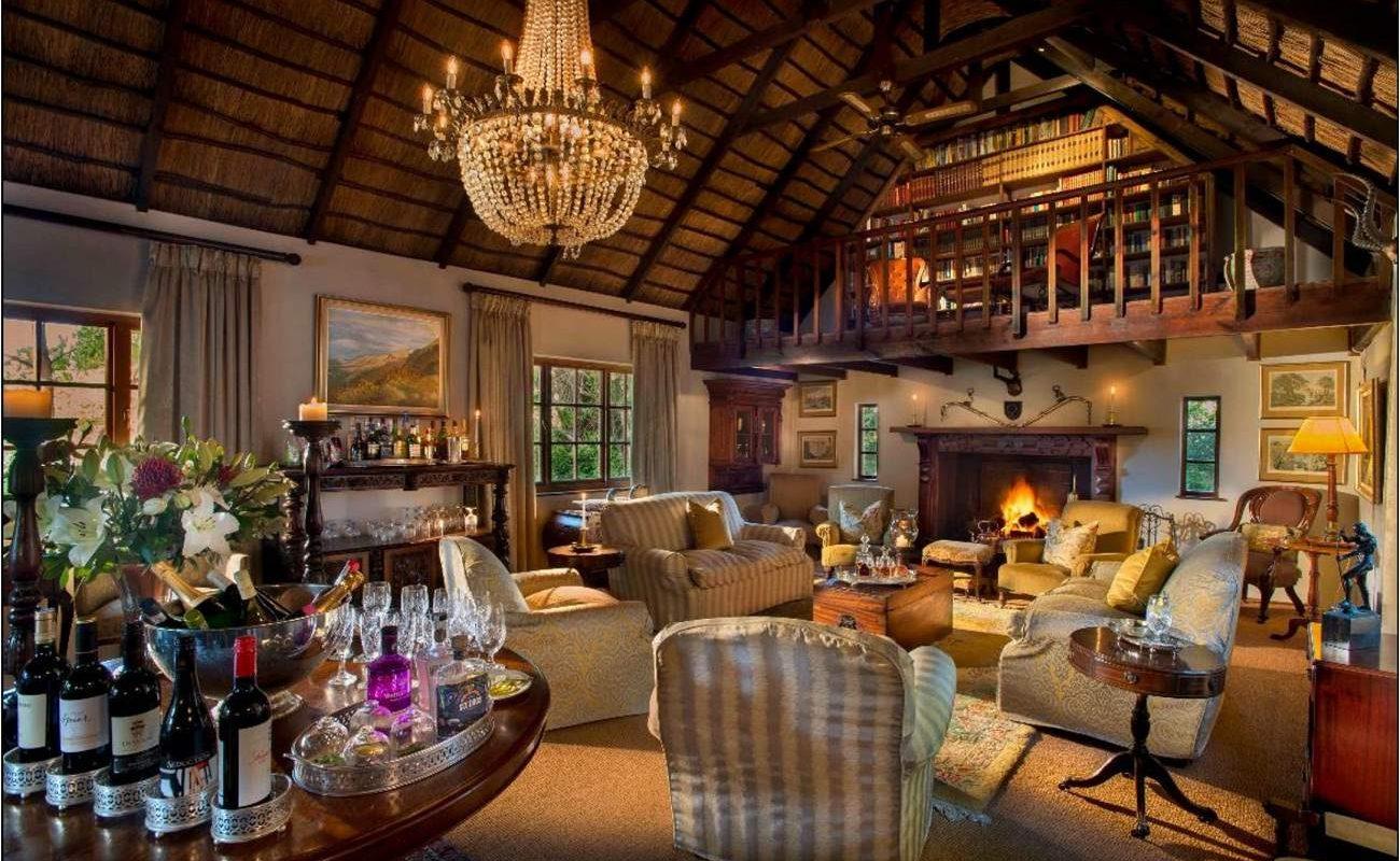 Die gemütliche Lounge des Country Houses