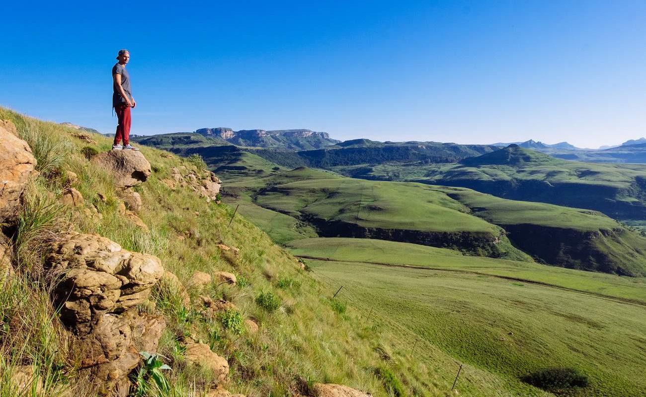 Wanderung in den Drakensbergen