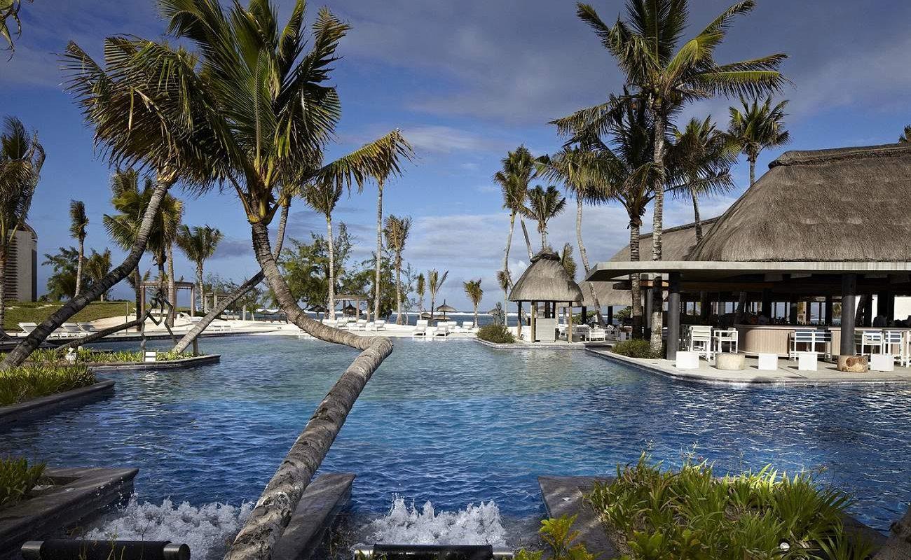 Hauptpool des Sun Resorts