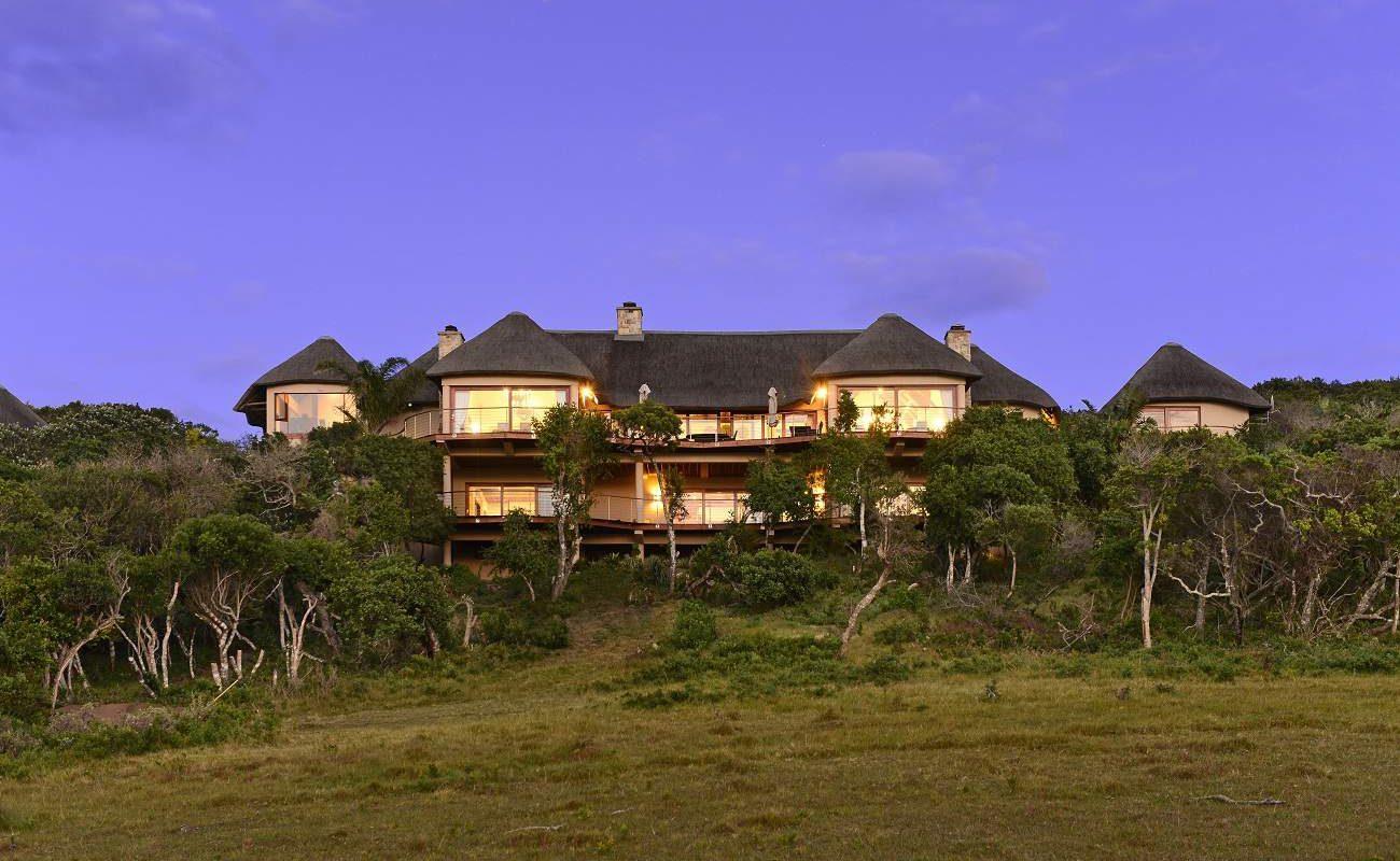 Haupthaus des Oceana Wildlife Reserve