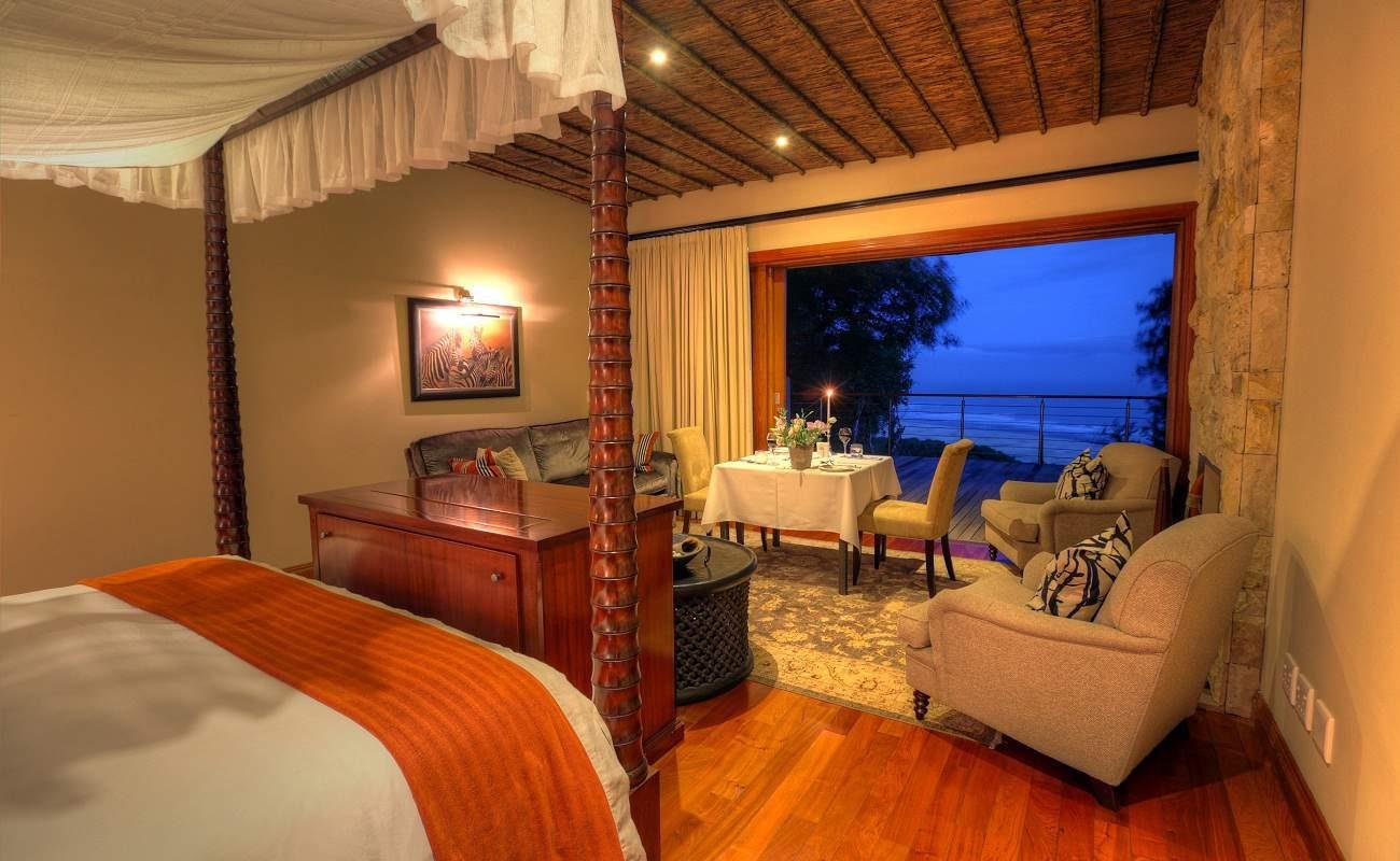Lodge Suite der Luxuslodge Oceana