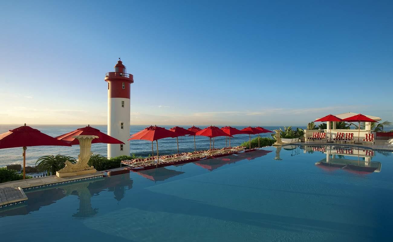 Ocean Pool des Luxushotels bei Durban