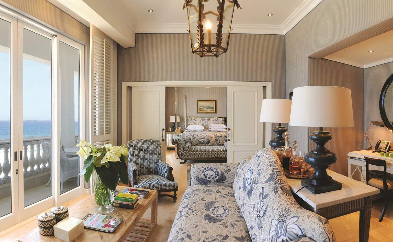 Luxury Suite mit Meerblick in der Oyster Box