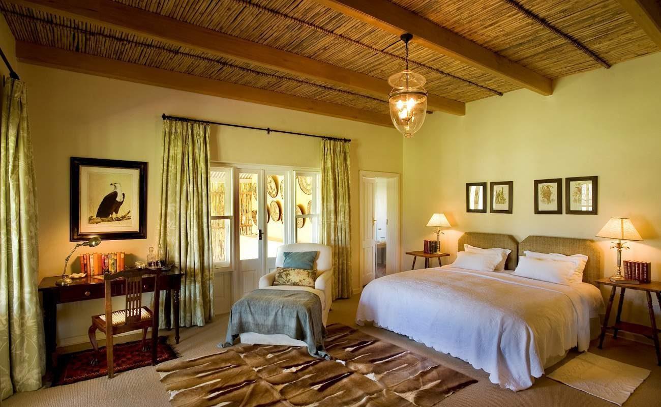 Suite in der Luxuslodge in der Karoo
