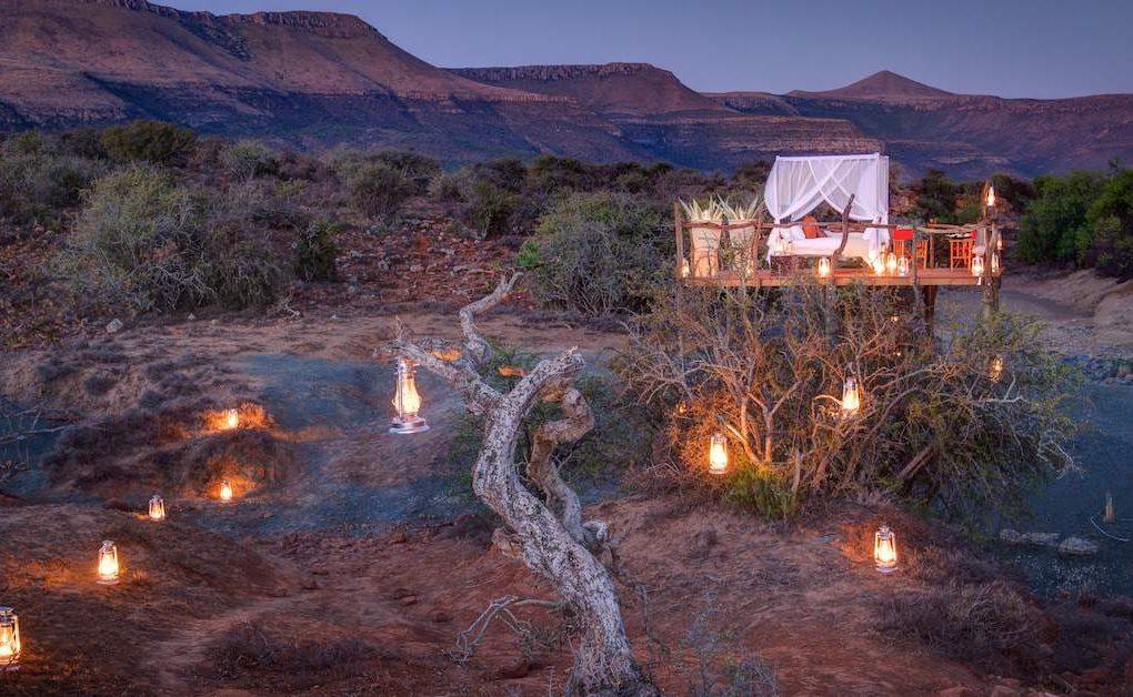 Einmal unter den Sternen schlafen - in der Karoo wird der Traum wahr