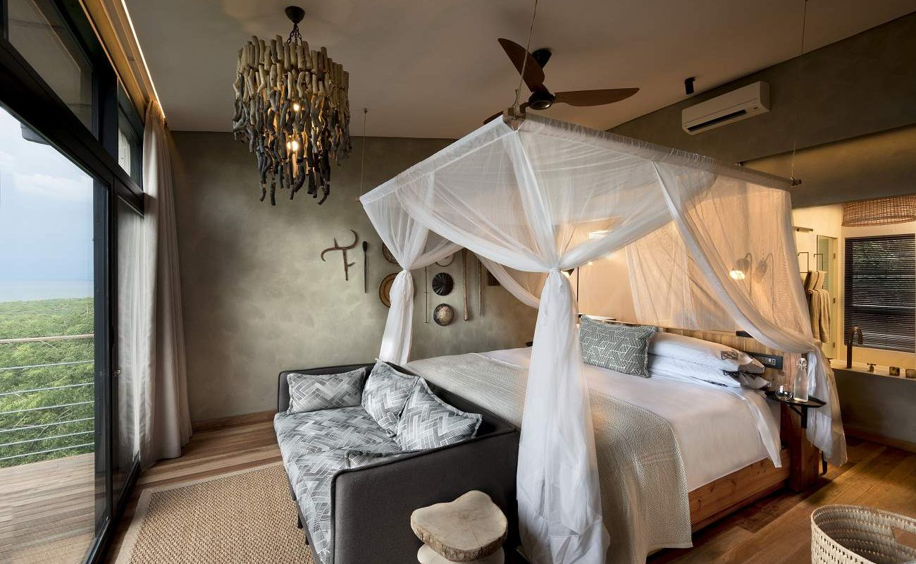 Suite in der exklusiven Bumi Hills Safari Lodge