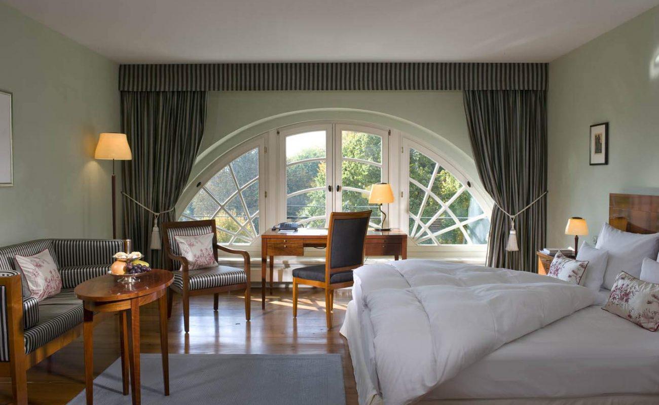 Deluxe Doppelzimmer in der Burg Schlitz