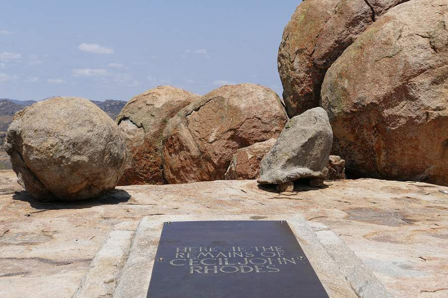 Grabmal Cecil Rhodes Matopos Zimbabwe