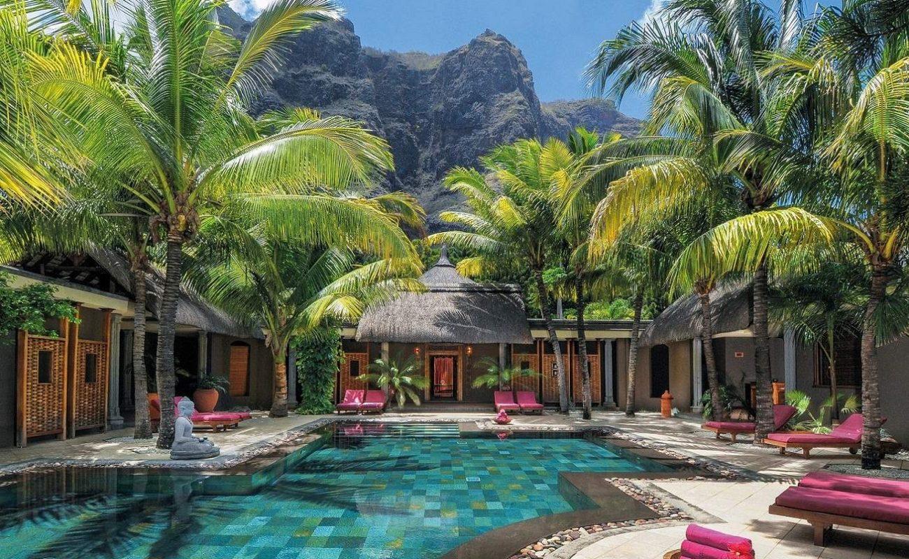 Spa des Luxushotels mit Clarins Produkten