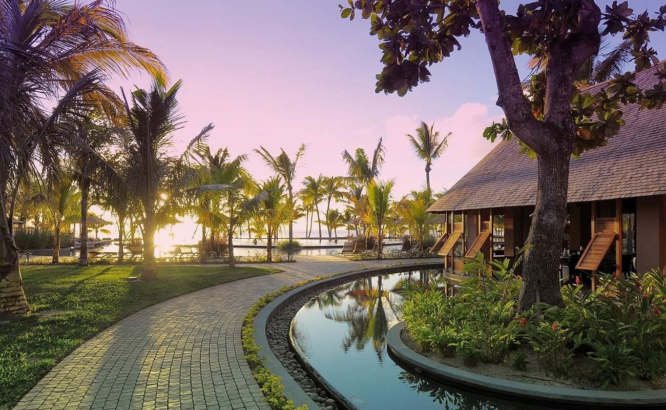 Romantische Stimmung im Luxushotel im Norden von Mauritius