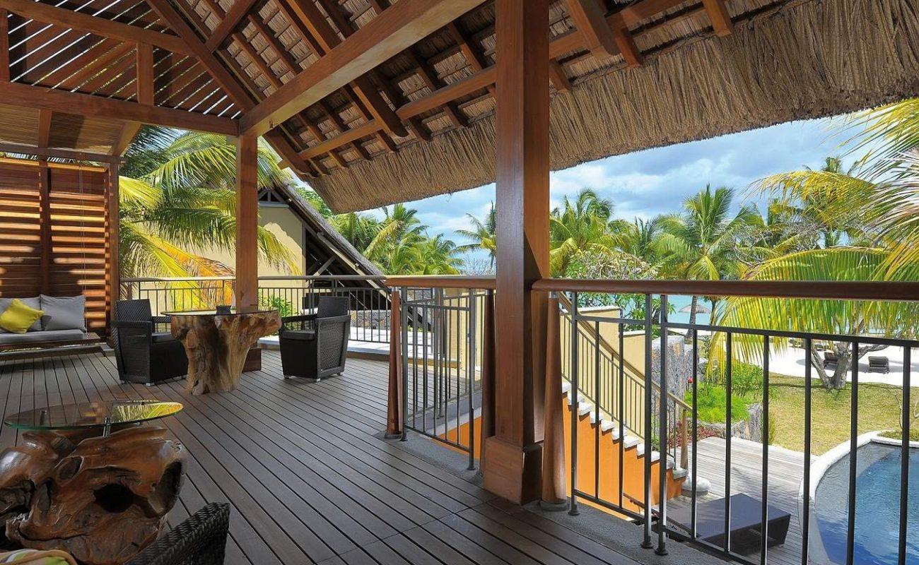 Blick auf den Indischen Ozean von der Senior Beachfront Suite