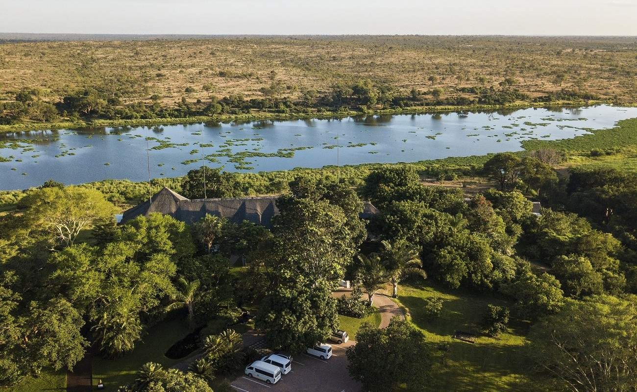 Crocodile River am Krüger Nationalpark