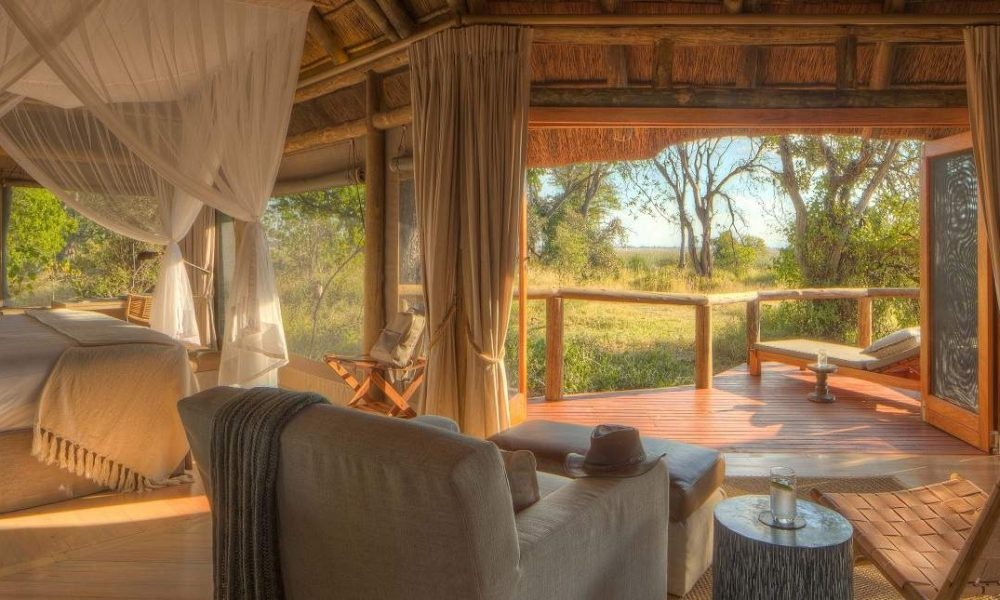 Camp Moremi Desert & Delta Safaris Botswana