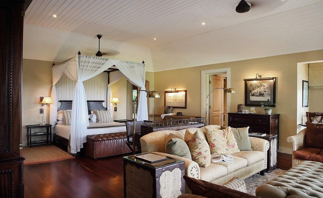Suite von Rattrays im Luxuscamp im Sabi Sands Gebiet