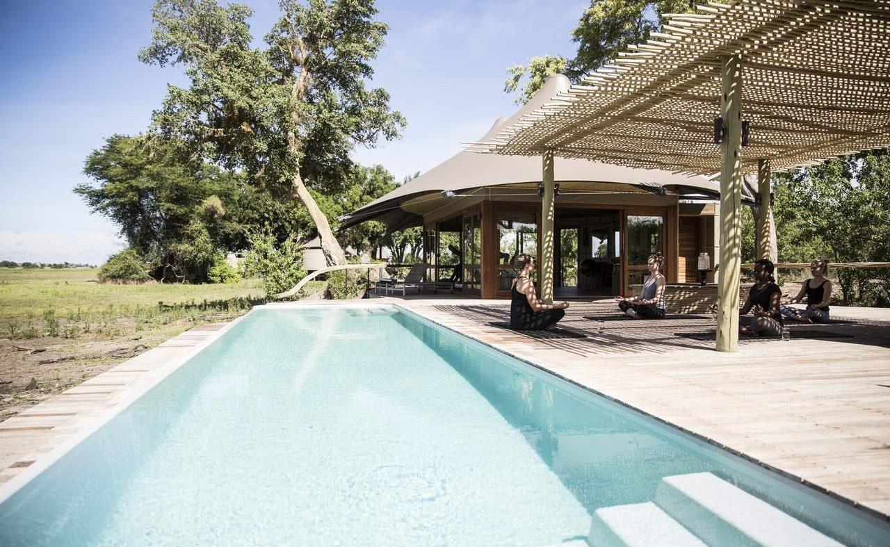 Pool von Mombo