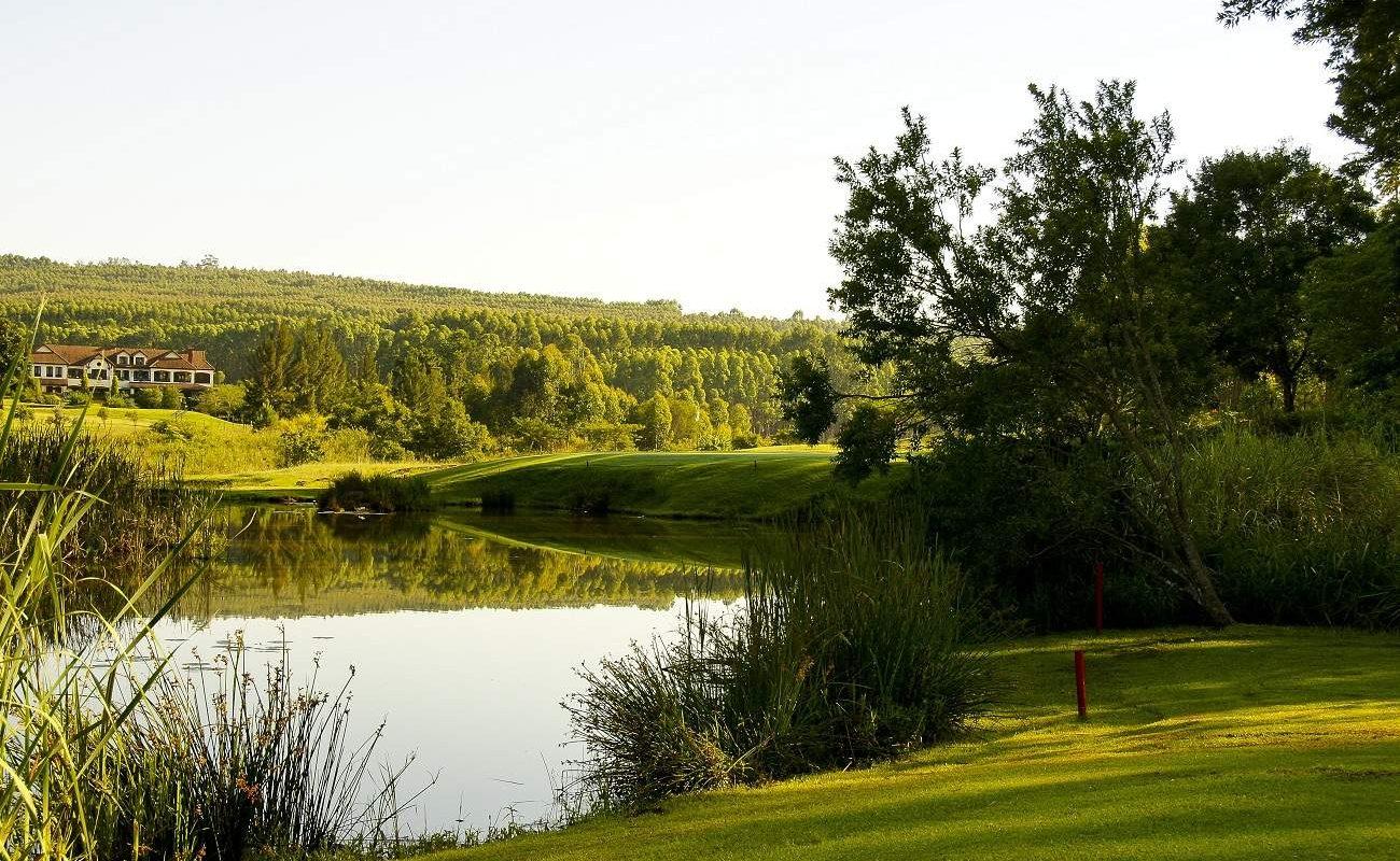 Blick vom 5. Grün des White River Golfcourse