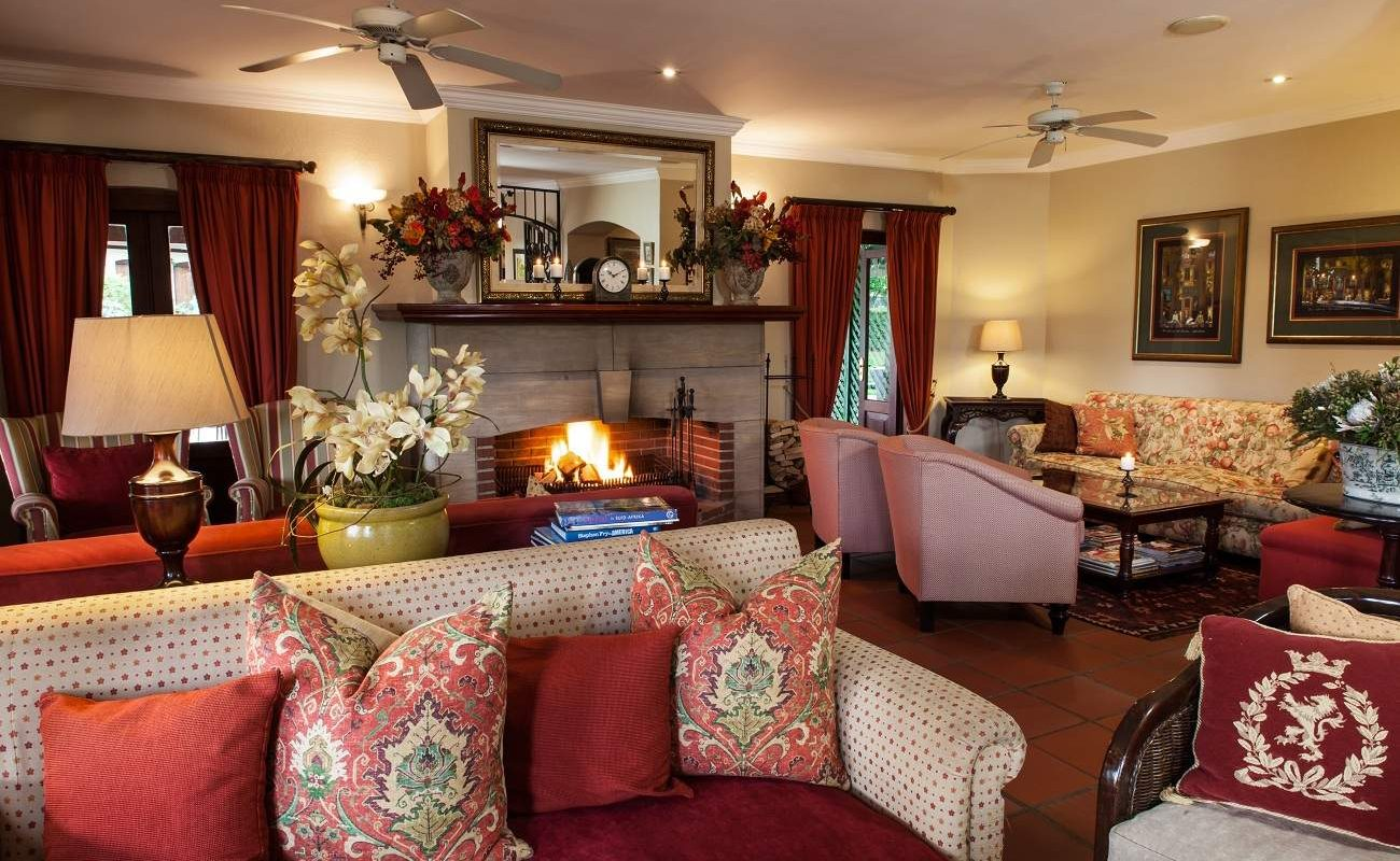 Lounge von Oliver's Restaurant & Lodge