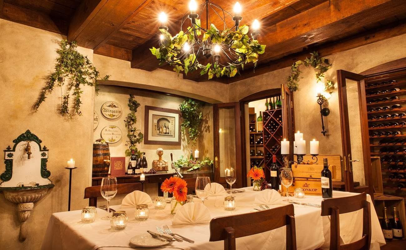 Weinkeller von Oliver's Restaurant