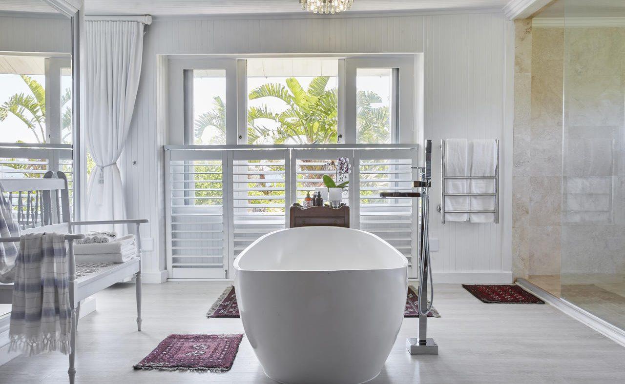 Badezimmer der Diamond Villa in der Prana Lodge