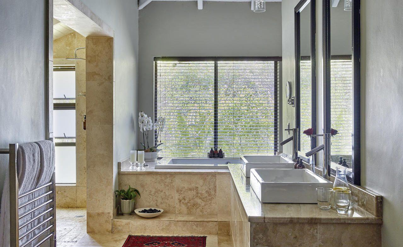 Badezimmer einer Executive Suite