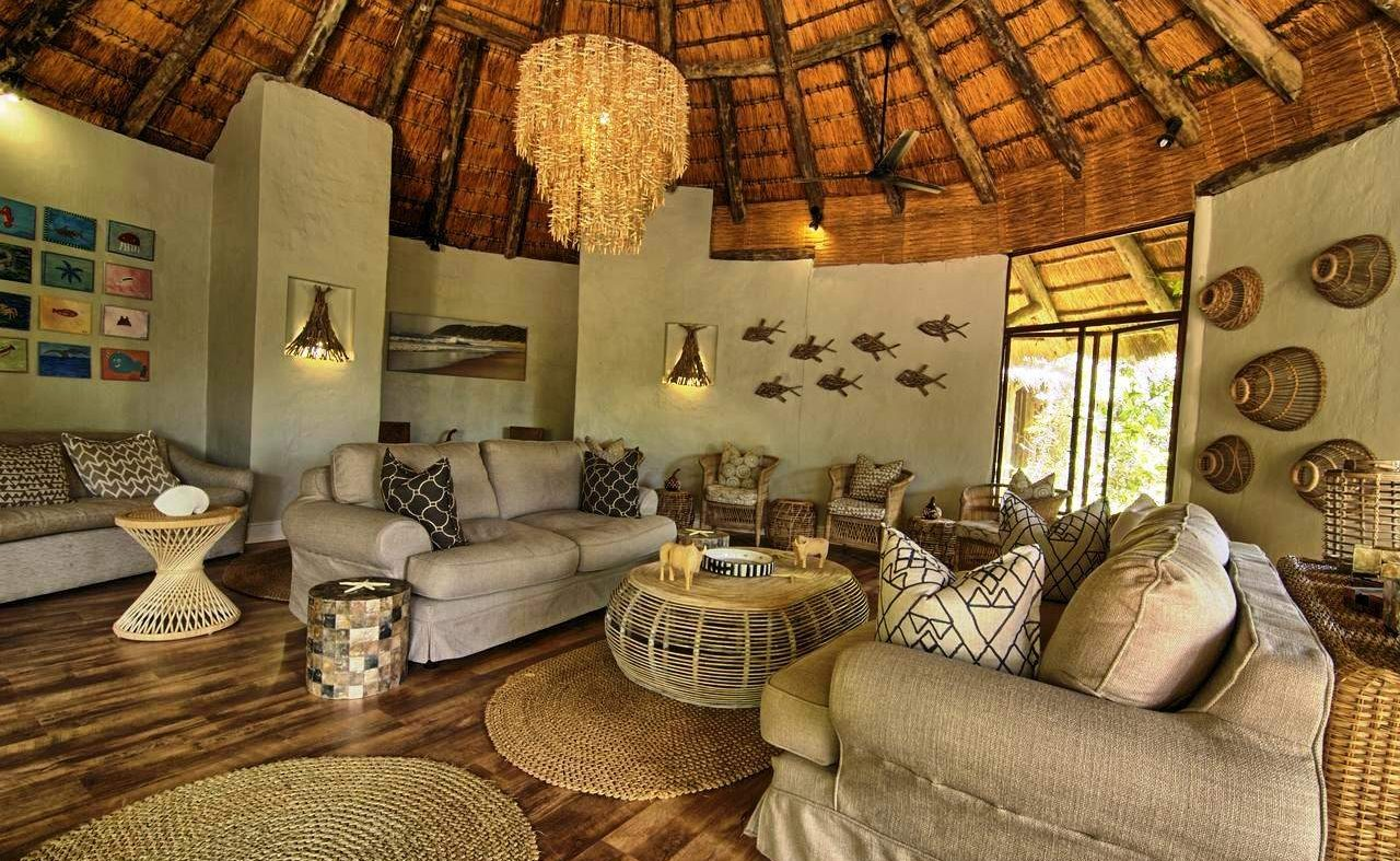 Lounge der Thonga Beach Lodge