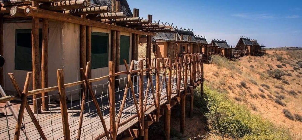 Xaus Lodge Kagalagadi Transfrontier Park Südafrika