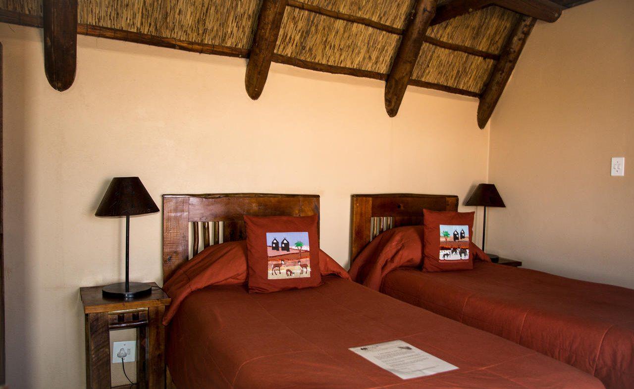 Doppelzimmer in der Xaus Lodge