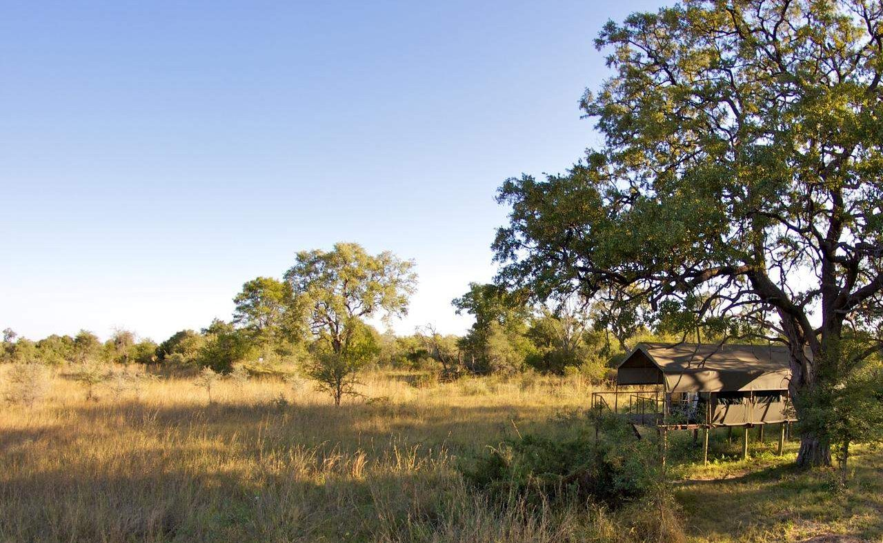 Im Kwando Linyanti Delta in Namibia