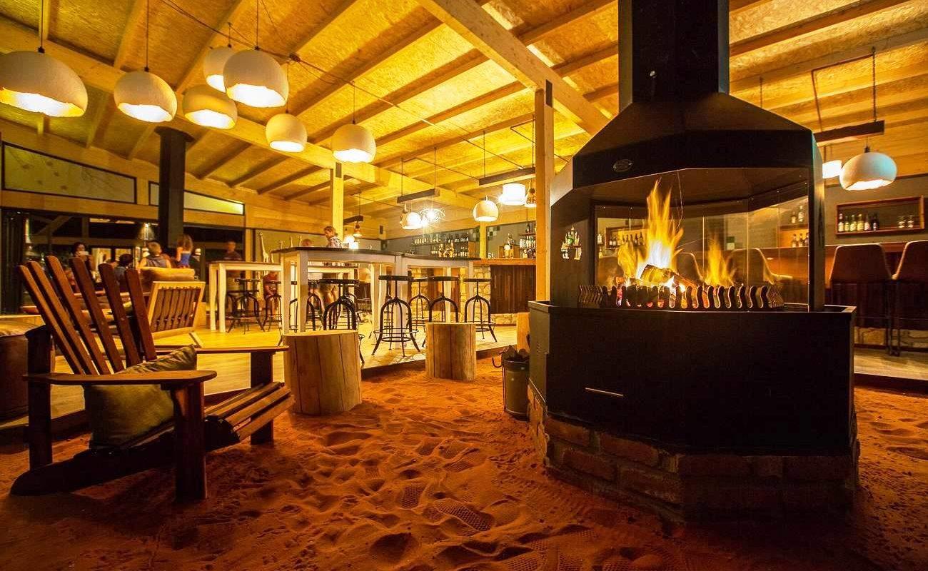Bar der Anib Lodge