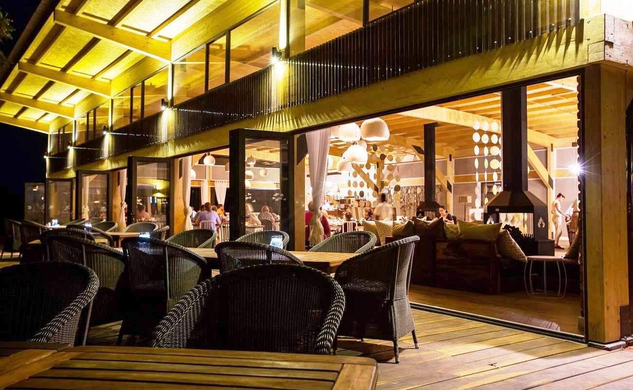 Restaurant der Anib Lodge in Namibia