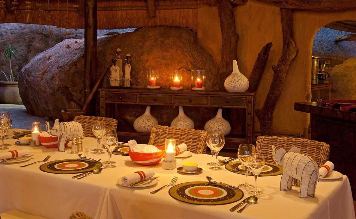 Abendessen in Mowani