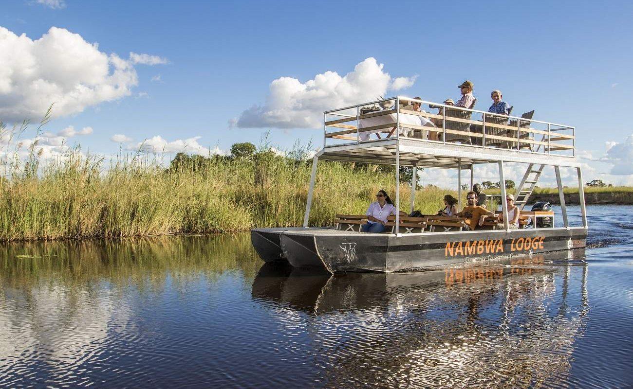 Boootstour auf dem Kwando River