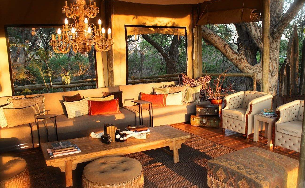 Lounge von Nambwa Tented